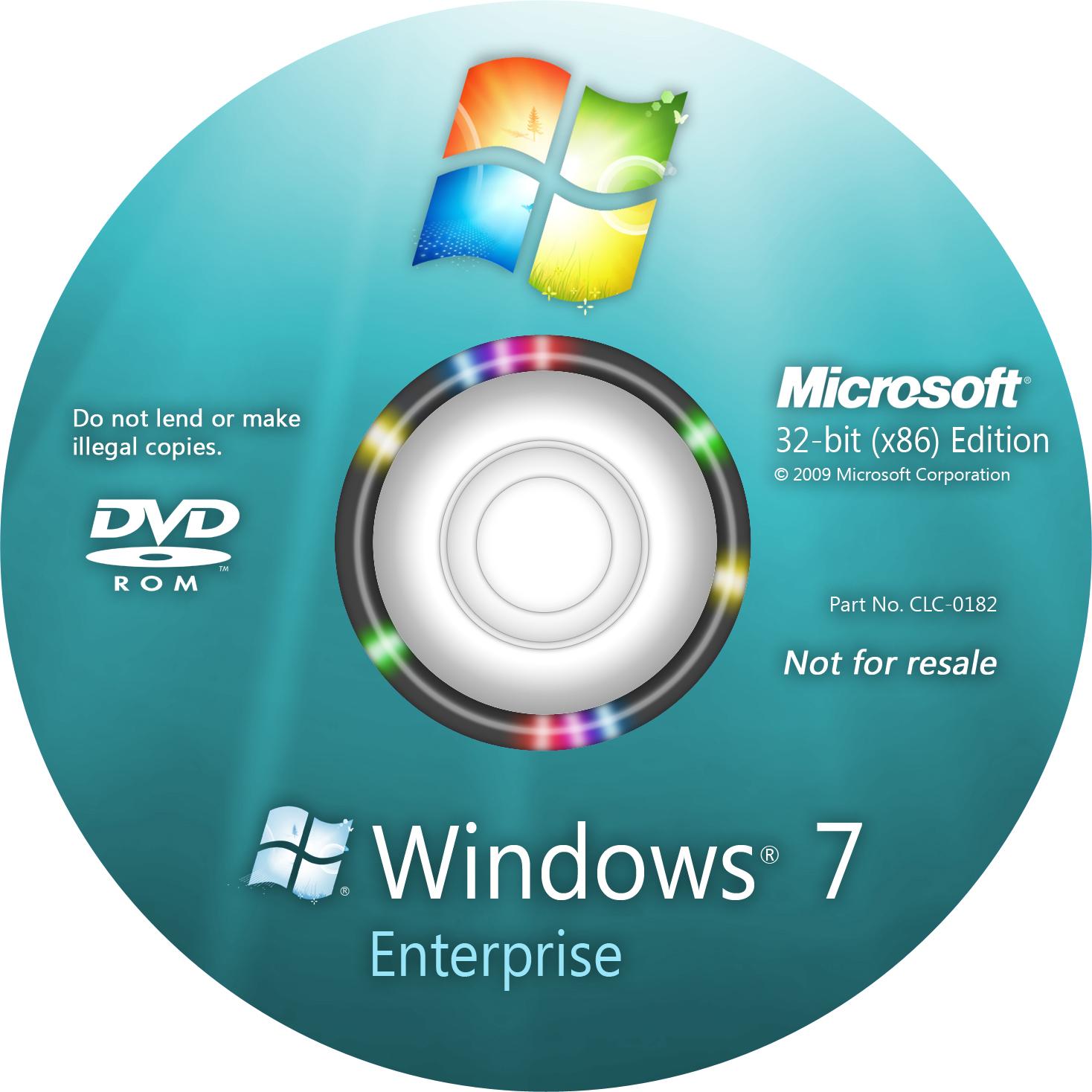 Win 7 32Bit Ultimate Original